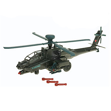 Παιχνίδια Kit de Construit Ελικόπτερο Παιχνίδια Πρωτότυπες Ελικόπτερο Πλαστική ύλη Μεταλλικό ABS Κλασσικό & Διαχρονικό Κομψό & Μοντέρνο 1