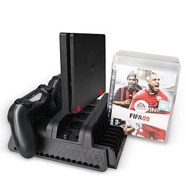 abordables Accesorios para PS4-Cargador / Escote Chino / Ventiladores Para PS4 ,  Cargador / Escote Chino / Ventiladores ABS 1 pcs unidad