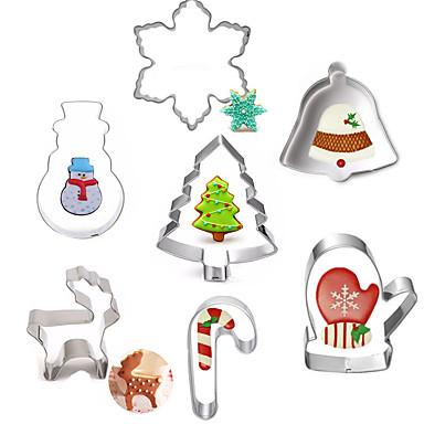 Narzędzia do pieczenia Stal nierdzewna Święta / DIY Tort / Ciasteczka / Placek Cartoon Shaped / Zwierzę Forma do pieczenia 7 sztuk