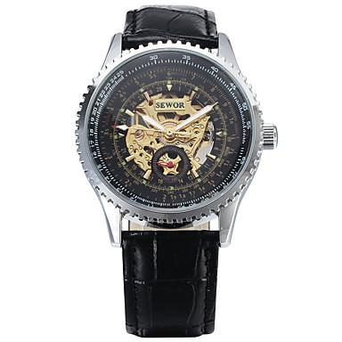 Bărbați Ceas Sport Ceas La Modă Ceas de Mână Quartz Piele Autentică Bandă Charm Casual Multicolor