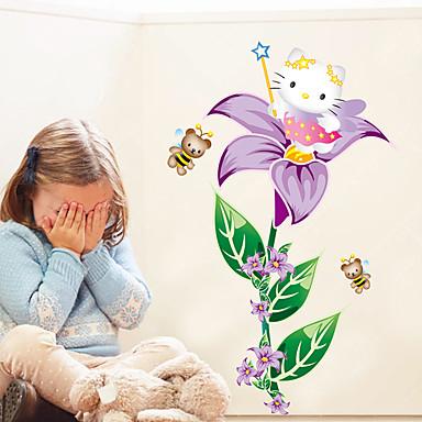 Animals Rysunek Florals Naklejki Naklejki ścienne lotnicze Dekoracyjne naklejki ścienne,Papier Materiał Dekoracja domowa Naklejka