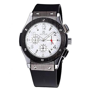Erkek Bilek Saati Elbise Saat Moda Saat Spor Saat Quartz Gerçek Deri Bant İhtişam Günlük Çok-Renkli