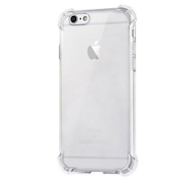 prova pacote de alça de silicone transparente queda do ar mais novo com caso de volta para iphone6 mais / 6s mais