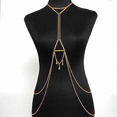 Biżuteria Łańcuch nadwozia / Belly Chain Artystyczny Modny Stop Biżuteria Na Prezenty bożonarodzeniowe Impreza Specjalne okazje Rocznica