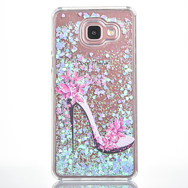 Käyttötarkoitus kotelot kuoret Virtaava neste Kuvio Takakuori Etui Sexy Lady Kova PC varten Samsung Galaxy A7(2016) A5(2016)