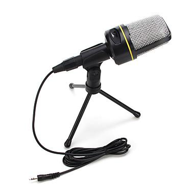 2017 nou de înaltă calitate microfon cu fir cald util stereo cu condensator cu clemă suport pentru chat karaoke PC-ul portabil