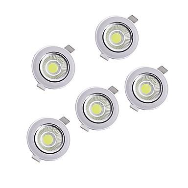 LEDs Ρυθμιζόμενο Χωνευτό LED Χωνευτό Σποτ Θερμό Λευκό Φυσικό Λευκό AC 220-240V