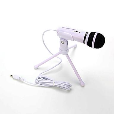 gorąca sprzedaż dźwięku pojemnościowy mikrofon do nagrywania dźwięku z szokiem zamontować zacisk uchwytu z blokadą pokrętła 3.5mm aux