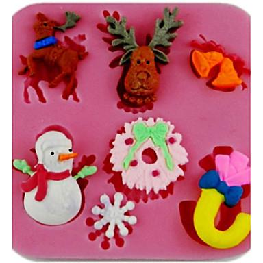 Bakeware-työkalut Silikoni Häät / Syntymäpäivä / Ystävänpäivä Leipä / Kakku / Cookie paistopinnan