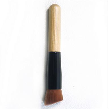 1pcs Pędzle do makijażu Profesjonalny Pędzelek do podkładu Włosie synetyczne Przenośny / a / Podróżne / Ekologiczne Drewno Pędzel mały