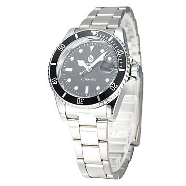 Męskie zegarek mechaniczny Zegarek na nadgarstek Do sukni/garnituru Modny Sportowy Nakręcanie automatyczne Na codzień Stop Pasmo Urok Na