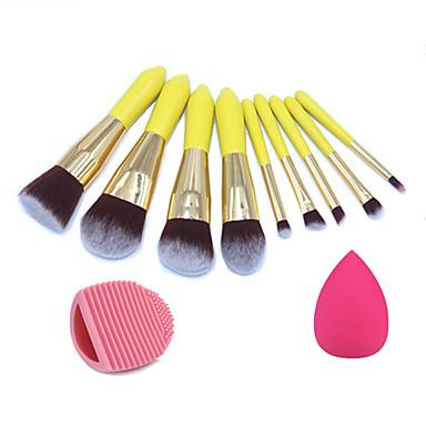 مجموعات فرشاة الاصطناعية الشعر محمول التغطية الكاملة الخشب الوجه العين شفة