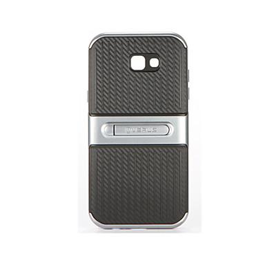 غطاء من أجل Samsung Galaxy A7(2017) A5(2017) مع حامل غطاء خلفي سادة ناعم الكمبيوتر الشخصي إلى A5 (2017) A7 (2017)