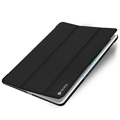 Kılıf Na Apple iPad Air 2 Auto uśpienie / włączenie Origami Pełne etui Solid Color Twarde Skóra PU na iPad Air 2 Apple