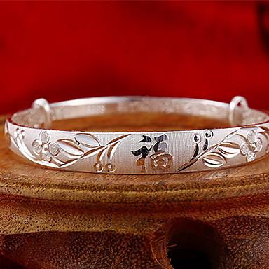 أساور الطبيعة نمط الشعبية فضة الاسترليني مجوهرات مجوهرات من أجل هدية