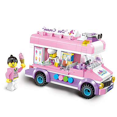 ENLIGHTEN Παιχνίδια αυτοκίνητα Τουβλάκια 213 Αυτοκίνητο Παιδικά Κοριτσίστικα Δώρο
