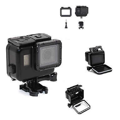 Waterproof Housing Case For Action Camera Gopro 5 Ski / Snowboard Surfing SkyDiving Rock Climbing Bike/Cycling Travel 1 set