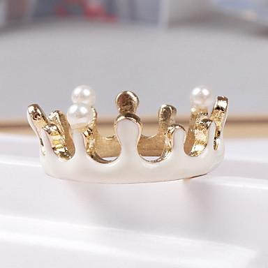 Κρίκοι Καθημερινά Causal Κοσμήματα Κράμα Δαχτυλίδι 1pc,Ένα Μέγεθος Λευκό Χρυσό Τριανταφυλλί