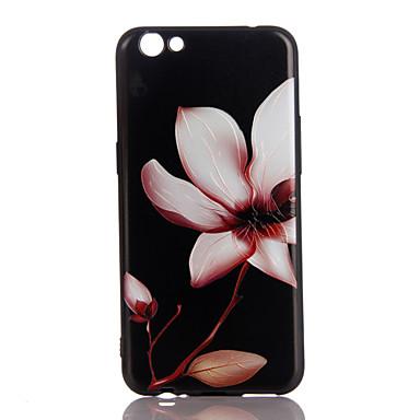 Varten Ultraohut Kuvio Etui Takakuori Etui Kukka Pehmeä TPU varten Apple iPhone 7 Plus iPhone 7 iPhone 6s Plus/6 Plus iPhone 6s/6