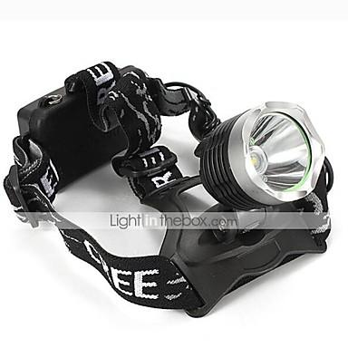 U'King Czołówki Reflektor LED 2000 lm 3 Tryb Cree XM-L T6 Zoomable Regulacja promienia Niewielki rozmiar Łatwe przenoszenie High Power