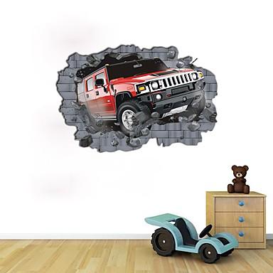 Abstract Modă Perete Postituri 3D Acțibilduri de Perete Autocolante de Perete Decorative, Hârtie Pagina de decorare de perete Decal Perete