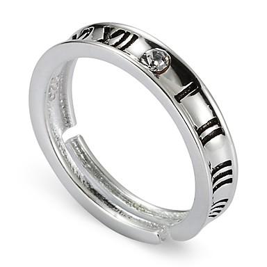 خاتم بانغك euramerican في اسلوب لطيف فضة الاسترليني دائري مجوهرات زفاف حزب يوميا فضفاض الرياضة