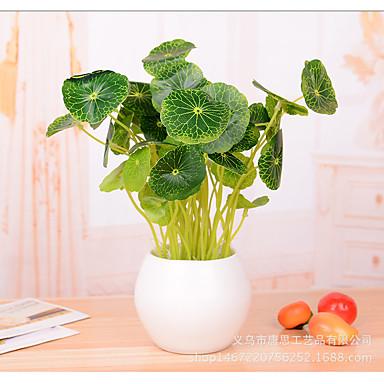 1 Gałąź Poliester Rośliny Bukiety na stół Sztuczne Kwiaty