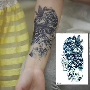1 Pcs Tatuaże Tymczasowe Wodoodporny 3d Ramię Klatka Piersiowa Papier Naklejki Z Tatuażem