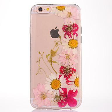 Na IMD Wytłaczany wzór Wzór Kılıf Etui na tył Kılıf Kwiat Miękkie TPU na Apple iPhone 7 Plus iPhone 7 iPhone 6s Plus/6 Plus iPhone 6s/6
