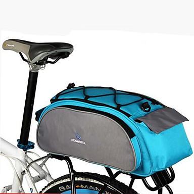 Pyörälaukku 13L Pyörän tavaralaukut Heijastava Käytettävä Pyörälaukku Teryleeni Pyöräilylaukku Pyöräily / Pyörä