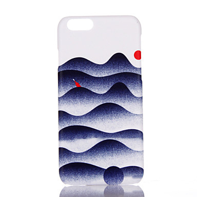 Varten Ultraohut Kuvio Etui Takakuori Etui Maisema Kova PC varten Apple iPhone 7 Plus iPhone 7 iPhone 6s Plus/6 Plus iPhone 6s/6