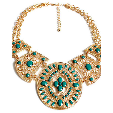 Γυναικεία Σκέλη Κολιέ Κοσμήματα Κοσμήματα Συνθετικοί πολύτιμοι λίθοι Κράμα Εξατομικευόμενο Πολυτέλεια Μοντέρνα Euramerican Στυλ