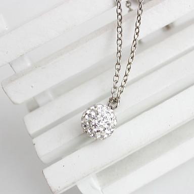 Dame Coliere cu Pandativ Bijuterii Bijuterii Piatră Preţioasă Diamante Artificiale AliajLa modă Personalizat Euramerican bijuterii de lux