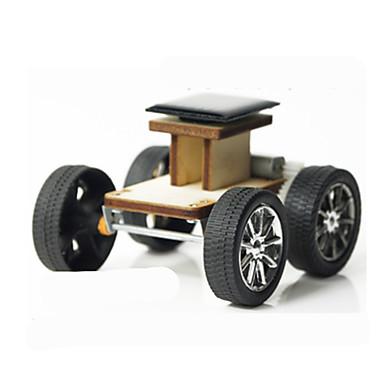 Oyuncak Arabalar Güneş Enerjili Oyuncaklar Legolar Ahşap Modeli Oyuncaklar Araba Güneş Enerjisi ile çalışır Yenilikçi Kendin-Yap Elektrik