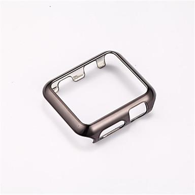 Недорогие Кейсы для Apple Watch-Чехол Назначение Apple Watch Series 4/3/2/1 ПК Совместимость Apple