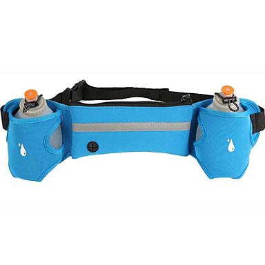 حزام الحقيبة حزام حامل الزجاجات إلى ركض حقائب الرياضة مقاوم للماء سريع جاف البناء في حقيبة أباريق يمكن ارتداؤها متعددة الوظائف بما في ذلك