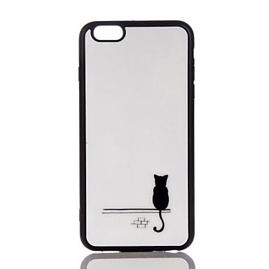 Maska Pentru Apple Ultra subțire Carcasă Spate Pisica Moale TPU pentru iPhone 7 Plus iPhone 7 iPhone 6s Plus iPhone 6 Plus iPhone 6s