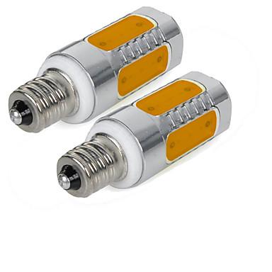 2pcs 3W 200-250lm lm E12 LED Mısır Işıklar 5pcs led COB Sıcak Beyaz Serin Beyaz 85-265V