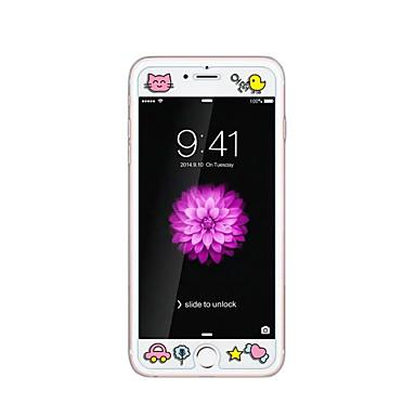 iPhone 6 / 6s plus 5.5inch karkaistu lasi läpinäkyvä edessä näytön suojakalvon kanssa emboss piirretty kuvio loistaa pimeässä poikasen