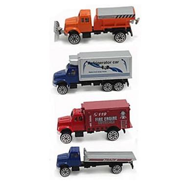 Samochodziki do zabawy zestawy do zabawy zawierające pojazdów Model samochodu Koparka Zabawki Symulacja Samochód Metal Plastikowy Alloy