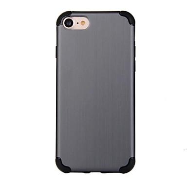 Pentru Anti Șoc Maska Carcasă Spate Maska Culoare solida Greu PC pentru Apple iPhone 7 Plus iPhone 7 iPhone 6s Plus/6 Plus iPhone 6s/6