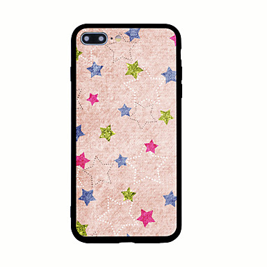 Maska Pentru Apple Model Carcasă Spate Model Geometric Greu Acrilic pentru iPhone 7 Plus iPhone 7 iPhone 6s Plus iPhone 6 Plus iPhone 6s