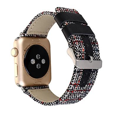 Παρακολουθήστε Band για Apple Watch Series 3 / 2 / 1 Apple Κλασικό Κούμπωμα Ύφασμα Λουράκι Καρπού