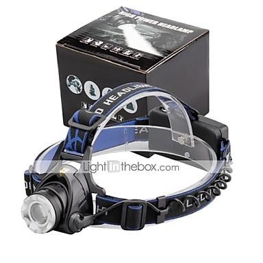 U'King Czołówki Reflektor LED 2000 lm 3 Tryb LED Zoomable Regulacja promienia Niewielki rozmiar Łatwe przenoszenie