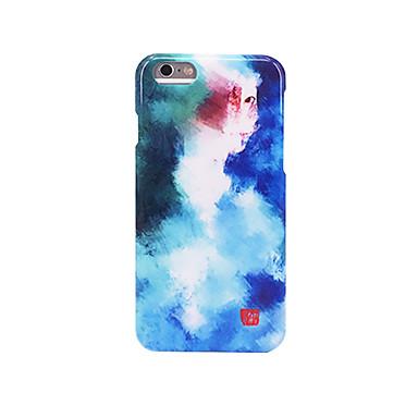 Pouzdro Uyumluluk Apple Buzlu Süslü Temalı Arka Kılıf Renkli Gradyan Sert PC için iPhone 7 Plus iPhone 7 iPhone 6s Plus iPhone 6 Plus