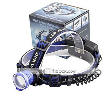 U'King مصابيح أمامية ضوء أمامي LED 2000 lm 3 طريقة LED زوومابلي المنبه Adjustable Focus حجم مصغر سهل الحمل عالية الطاقة متعددة الوظائف