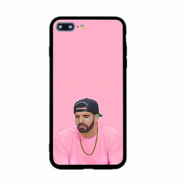 Kılıf Na Apple iPhone X iPhone 8 Wzór Czarne etui Punk Twarde Akrylowy na iPhone X iPhone 8 Plus iPhone 8 iPhone 7 Plus iPhone 7 iPhone