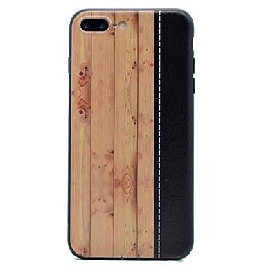 غطاء من أجل Apple iPhone 7 Plus iPhone 7 نحيف جداً غطاء خلفي خشب ناعم TPU إلى iPhone 7 Plus iPhone 7 iPhone 6s Plus ايفون 6s iPhone 6