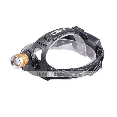 U'King Czołówki Reflektor LED 1500 lm 4.0 Tryb Cree XP-E R2 Zoomable Regulacja promienia Niewielki rozmiar Fałszywy Detector Łatwe