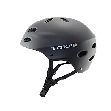 خوذة دراجة 10 المخارج ركوب الدراجة الرياضة المتطرفة جبل رياضات ABS EPS التسلق أخضر / الدراجة التزلج دراجة جبلية